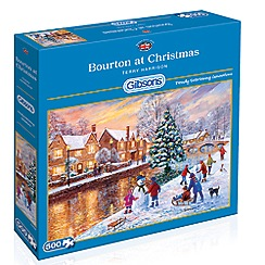 Debenhams - Gibsons Bourton at Christmas (500 piece jigsaw puzzle)