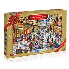 Debenhams - Gibsons The Christmas Grotto Limited Edition (1000 piece jigsaw puzzle)