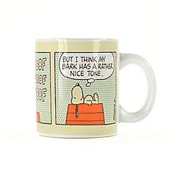 Half Moon Bay - Peanuts mug