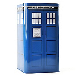 Doctor Who - Tardis biscuit tin