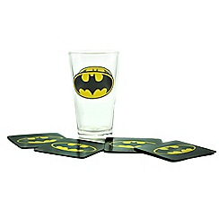Batman - Glass and coaster set