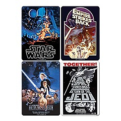 Star Wars - Set of 4 poster coasters