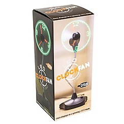 Menkind - USB Powered LED fan clock
