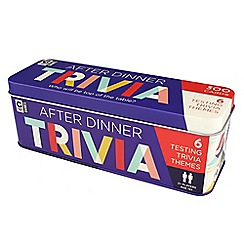Ginger Fox - After dinner trivia tin