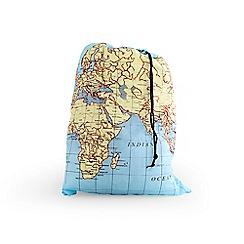 Kikkerland - Maps Travel Laundry Bag