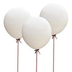Ginger Ray - Huge white balloons