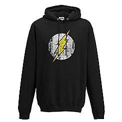 DC Comics - The flash - logo black pullover hoodie