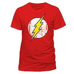 DC Comics - The flash - distressed logo tshirt
