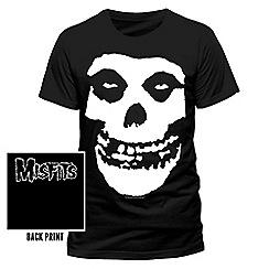 Debenhams - Misfits - Skull tshirt