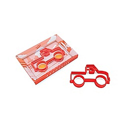 Luckies - Eggmobile red egg shaper