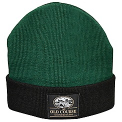 Golf Gifts - St Andrews golfers beanie hat - green