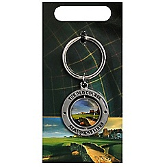 Golf Gifts - St Andrews double sided golfers' s key ring