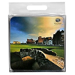 Golf Gifts - St Andrews set of 4 coasters