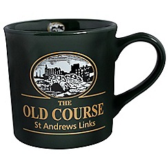 Golf Gifts - St Andrews toc mug (green)