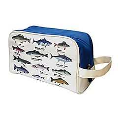 Gift Republic - Fish Species Wash Bag