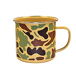 Gift Republic - Camoware Enamel Mug