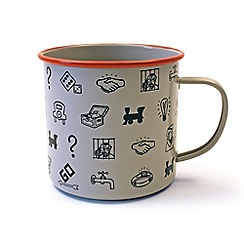Gift Republic - Monopoly Icon Enamel Mug