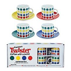 Gift Republic - Twister Espresso Set