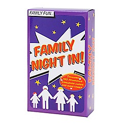 Talking Tables - Family night in