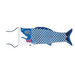 DOIY - Fish travel bag blue