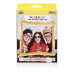 npw - Gold inflatable picture frame