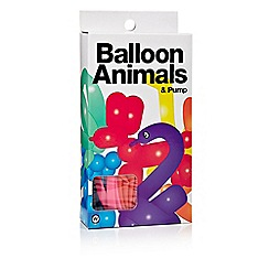 npw - Multi coloured animal balloon pack