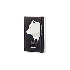 Moleskin - Limited edition game of thrones large ruled notebook