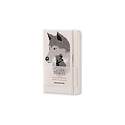 Moleskin - Limited edition game of thrones pocket plain notebook