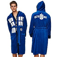 Doctor Who - Tardis Fleece robe