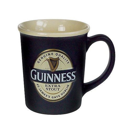 Guinness - Large label embossed mug