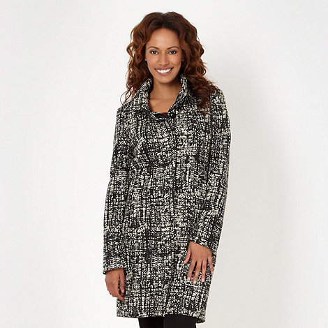 Betty Jackson.Black - Designer black checked coat
