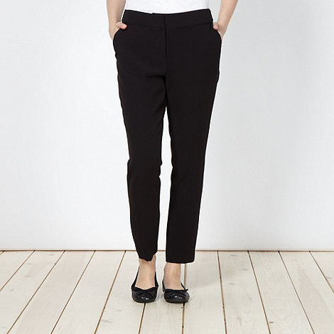 Betty Jackson.Black - 7/8th Crepe Slim Leg Trouser
