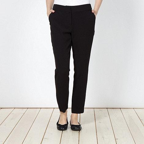 Betty Jackson.Black - 7/8th Crepe Slim Leg Trouser
