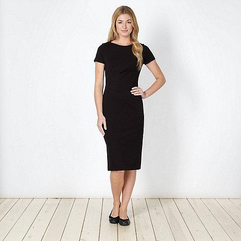 Betty Jackson.Black - Designer black asymmetric jersey dress