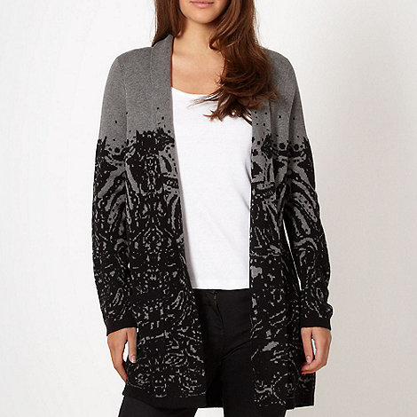 Betty Jackson.Black - Designer black cardigan
