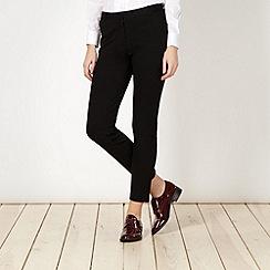 Betty Jackson.Black - Designer black slim leg trousers