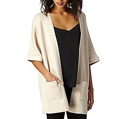 Betty Jackson.Black - Designer natural kimono cardigan
