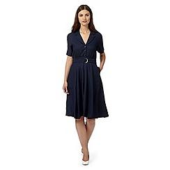 Betty Jackson.Black - Designer navy shirt dress