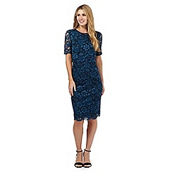 Betty Jackson.Black - Blue lace dress