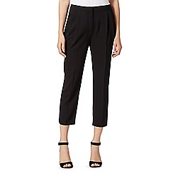 Betty Jackson.Black - Designer black pleat front trousers