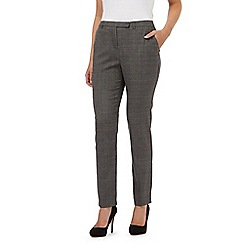 Betty Jackson.Black - Dark grey smart trousers