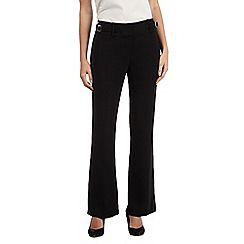 Betty Jackson.Black - Black wide leg trousers