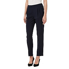 Betty Jackson.Black - Navy slim fit trousers