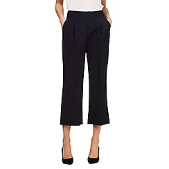 Betty Jackson.Black - Navy cropped trousers