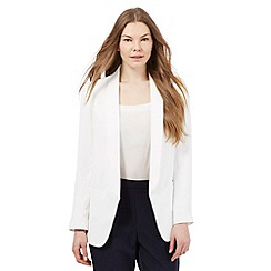 Betty Jackson.Black - Ivory longline blazer