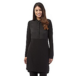 Betty Jackson.Black - Black long sleeve jersey tunic
