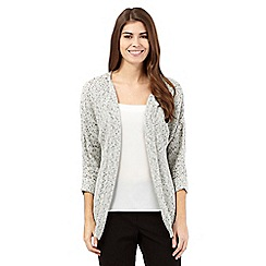 Betty Jackson.Black - Cream salt and pepper cardigan