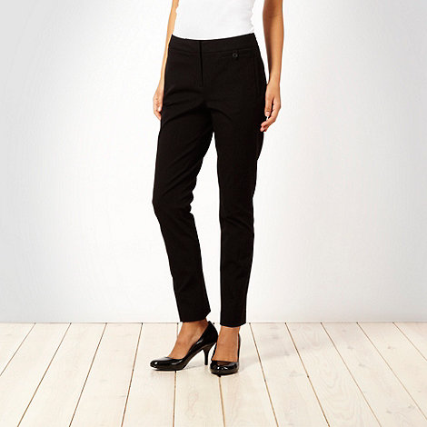 Betty Jackson.Black - Black stretch trousers