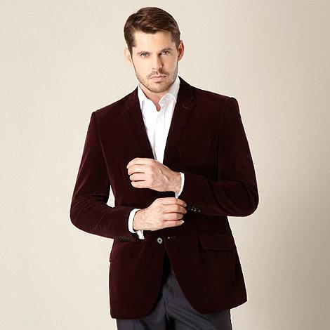 Jeff Banks - Designer plum velvet blazer