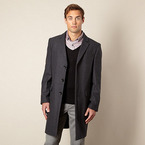 Jeff Banks - Designer single breasted overcoat